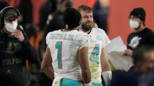 Dolphins QB Tagovailoa questionable for Bengals game
