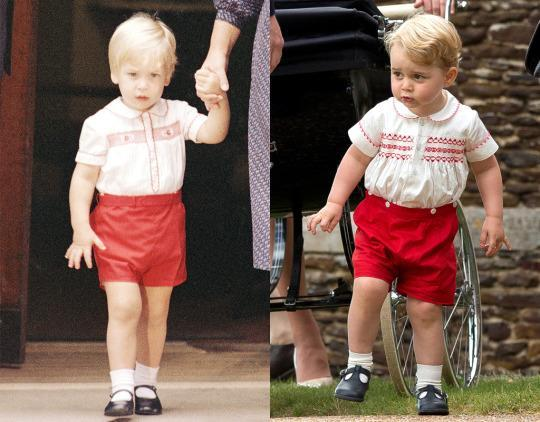 Prince George Matches His Dad Why Parents Dress Their