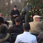 Dr. Martin Luther King, Jr. wreath laying ceremony draws crowds in Raleigh