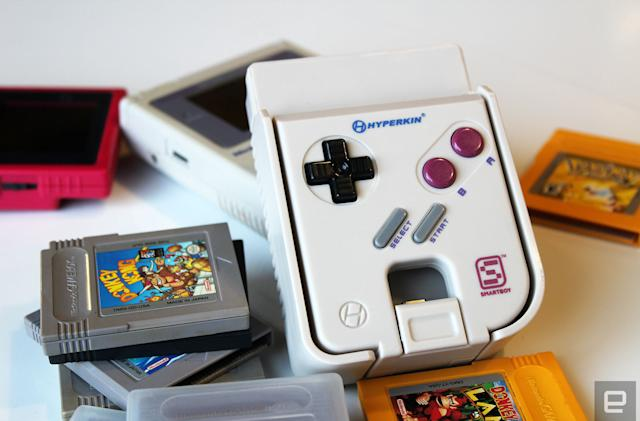 Turn your smartphone into a Game Boy with Hyperkin's Smartboy