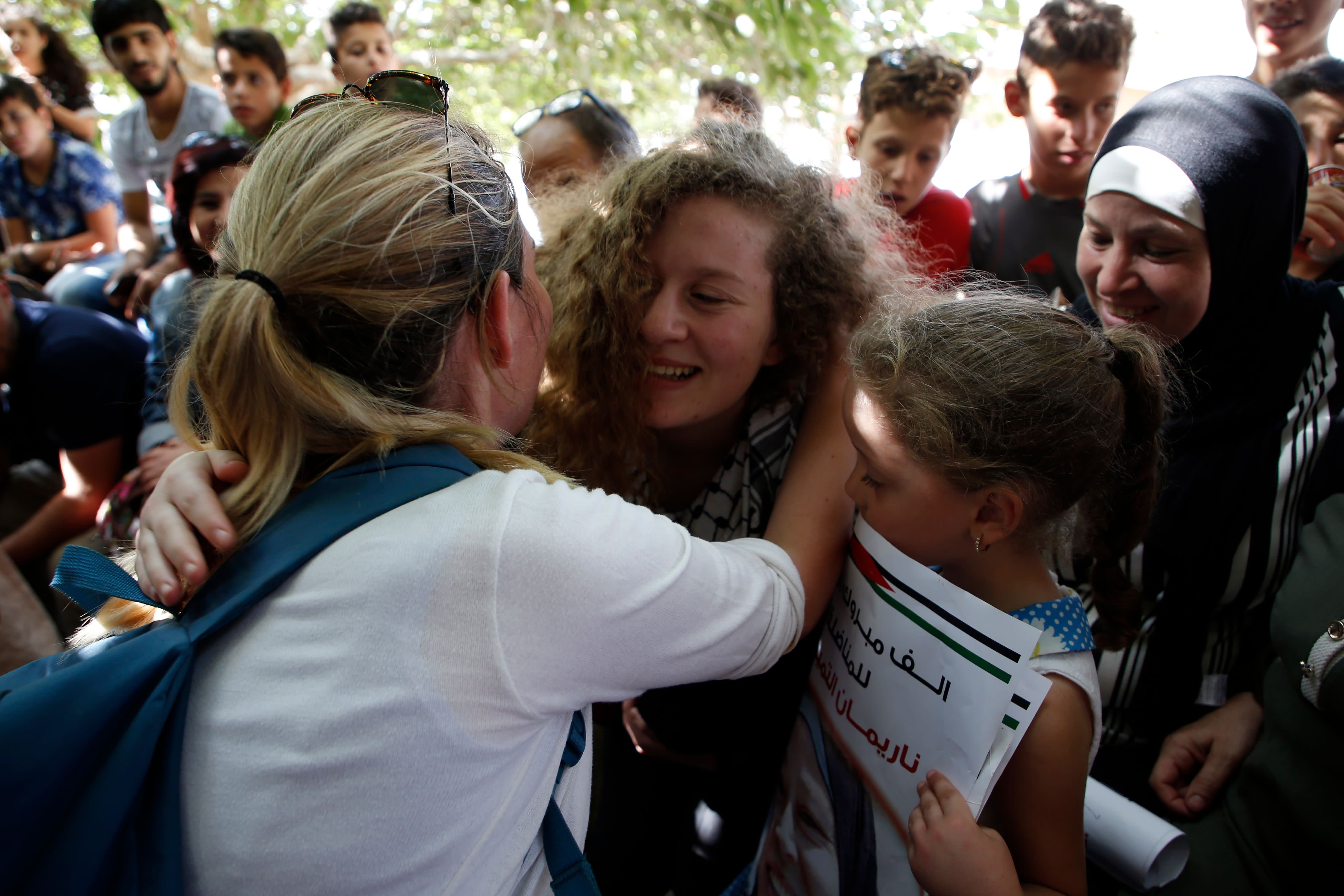 Palestinian Protester Ahed Tamimi Was Released From an