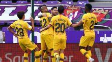 Barcelona vence Valladolid e segue vivo na Liga espanhola