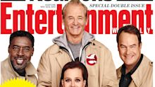 'Ghostbusters' Stars Reunite on the Cover of 'Entertainment Weekly'