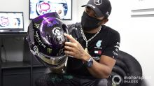 Hamilton warned of 'consequences' over Kaepernick F1 helmet plan