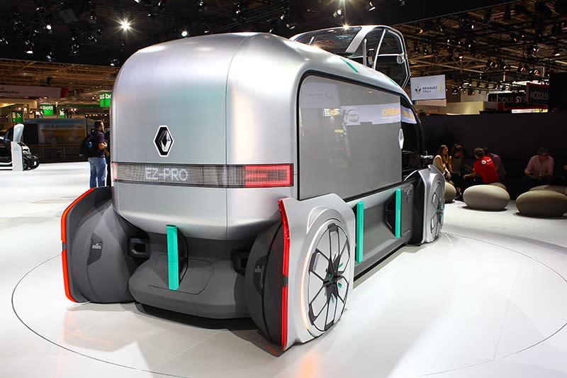 EZ Pro可視為稍早發表EZ Go的貨車概念版本。