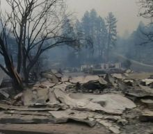 Town of Paradise burned to the ground as a result of Camp Fire in Northern California