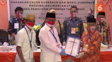 Tiga Calon Gubernur Kaltara Mendaftar di Hari yang Sama