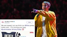 Ole Miss addresses roster worries by offering a spot to Justin Bieber