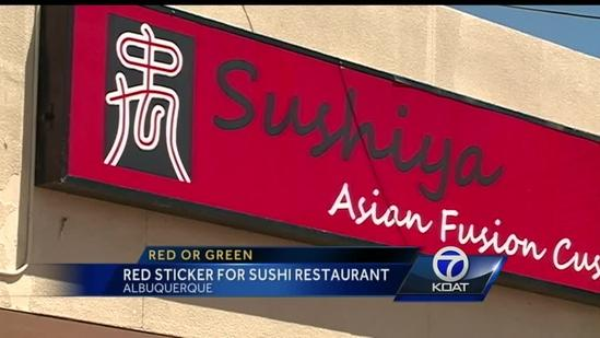 Red or Green Restaurant Report: July 7, 2014