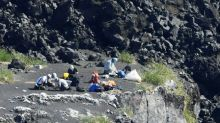 Japanese scientists land on newly formed volcanic island