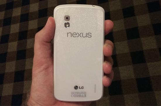 Rumors mount for white Nexus 4, may launch with next version of Android