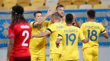 Ucrânia vence Suíça e assume liderança na Liga das Nações