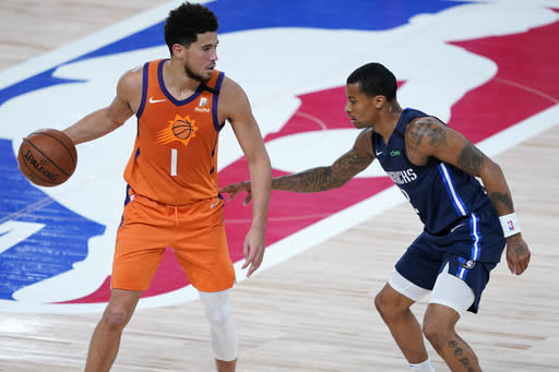 Suns top Mavs to finish 8-0 in bubble, but fail to advance