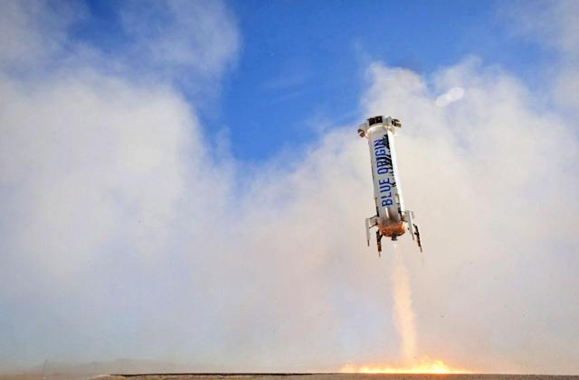 Blue Origin and NASA team up to test new technologies in space