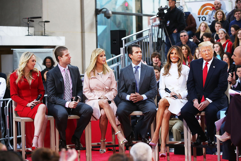 美國大選 特朗普的五個子女做什麼工作? - Yahoo 新聞
