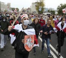 100,000 march in Belarus capital on 50th day of protests