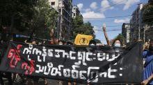 Demos mark 100 days of Myanmar junta rule