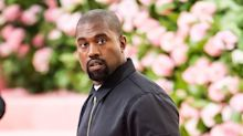 Kanye West shares a video of him urinating on his Grammy awards