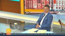 Ben Shephard makes 'uncomfortable' return to 'Good Morning Britain'