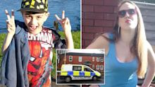 Mum charged after son, 7, 'freezes to death' outside house