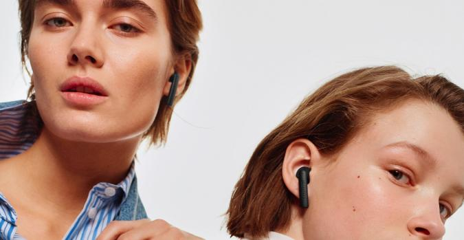The Urbanears Luma earbuds.