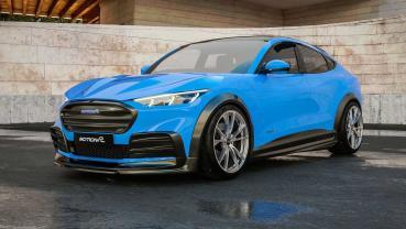 Ford Mustang Mach-E 藉著 Motion R Design 的幫助變得更為兇猛