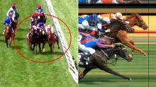 Controversial Melbourne Cup finish sees placings change in post-race drama