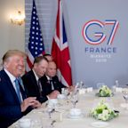 The Latest: Johnson says Macron handling 'difficult' talks