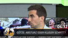 2 nach 10: Mario Götze zu PSV Eindhoven : Absturz oder kluger Schritt?