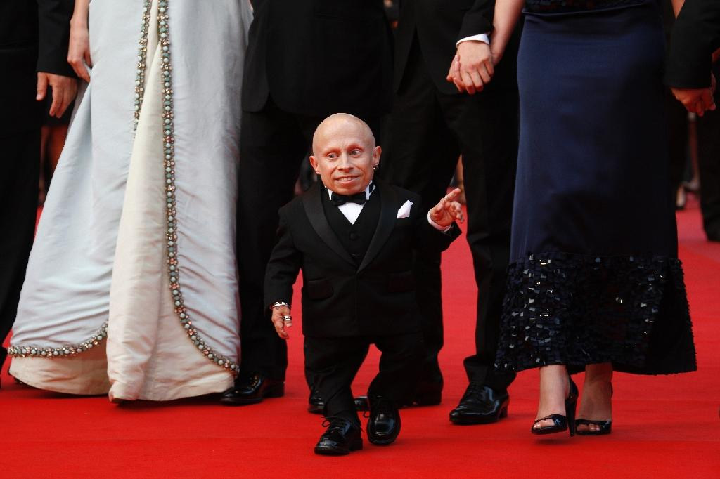 """Verne Troyer was best known for his role as Mini-Me in the """"Austin Powers"""" movies and as Griphook in """"Harry Potter"""" (AFP Photo/Valery HACHE)"""