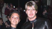 Victoria Beckham aún conserva su atuendo de cuero a juego con su marido