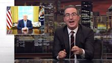 John Oliver Forecasts 100% Chance Of 'Bulls**t' About Trump's Weather Service Plan