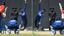 Ambidextrous spinner achieves remarkable career first