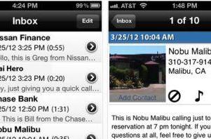YouMail updates, now allows 'numberless messaging'