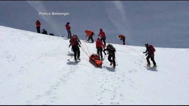 Amazing Mt. Hood Hiker Rescue Caught on Tape