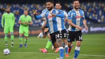 Foot - ITA - Naples se fait peur contre la Lazio mais rêve encore de podium en Serie A