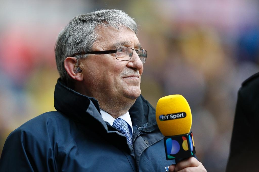 Former England and Watford manager Graham Taylor is seen in April 2016