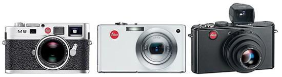 Leica's D-LUX 4, C-LUX 3 and M8.2 digicams get fully detailed