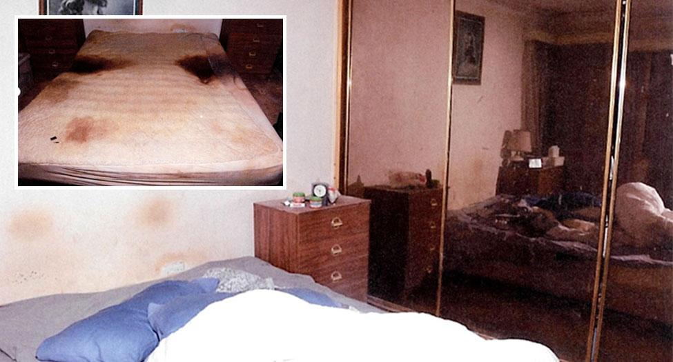 The urine-soaked bed elderly mum was left in before dying from fatal bedsores
