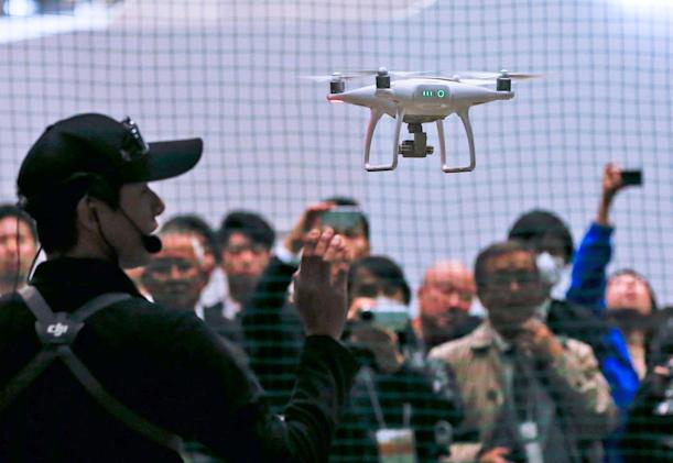 US government warns China may have access to drone data