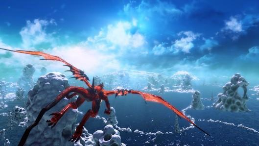 Crimson Dragon spreads its wings in a new trailer
