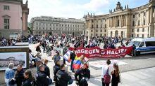 Protest: Corona-Demo in Berlin: Verfassungsschutz stellt Analyse vor