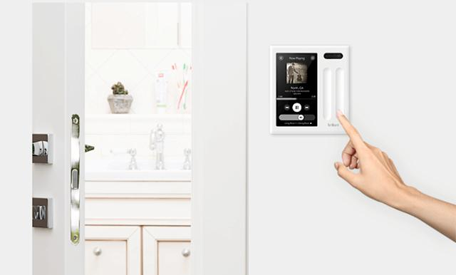 You can now buy Brilliant's light switch smart home hubs
