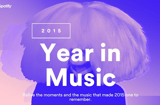 Spotify's 'Year in Music' recaps your streaming in 2015