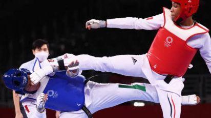 JO - Taekwondo (F) - Althéa Laurin rejoint les quarts de finale des JO