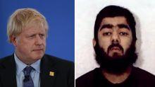 Criminals like London Bridge attacker Usman Khan aren't 'capable' of being rehabilitated, says Boris Johnson