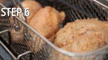 How to make crispy chicken rendang