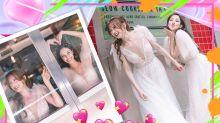 陳凱琳孖龔嘉欣影婚紗相 為姊妹新劇出力宣傳