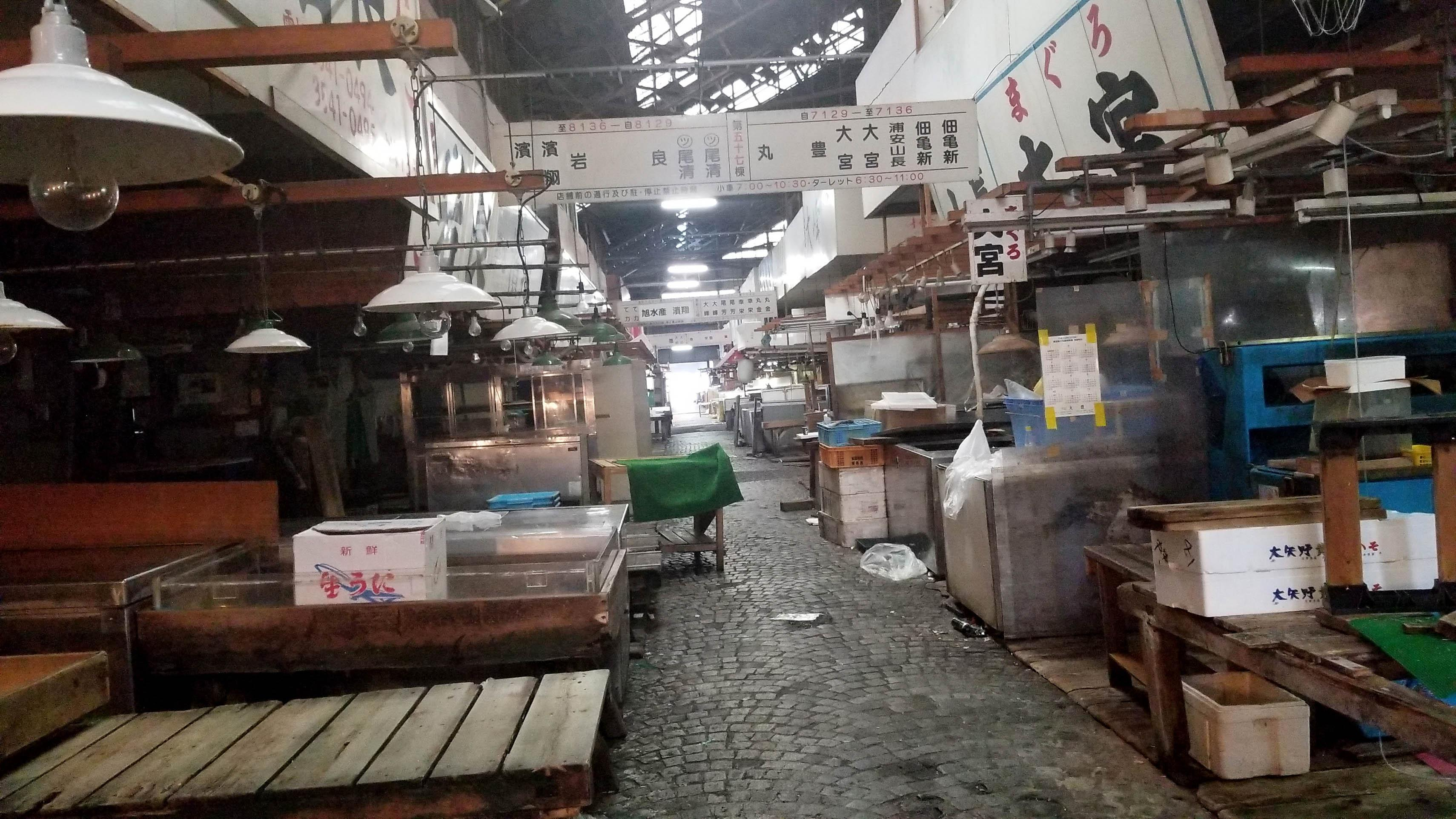Ghosts of Tsukiji: After 83 years, world's top fish market