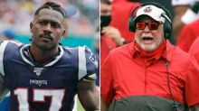 Buccaneers' Bruce Arians wanted nothing to do with Antonio Brown